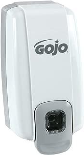 Gojo NXT Grey Plastic General Purpose Push Bar Dispenser For Deluxe Lotion Soap