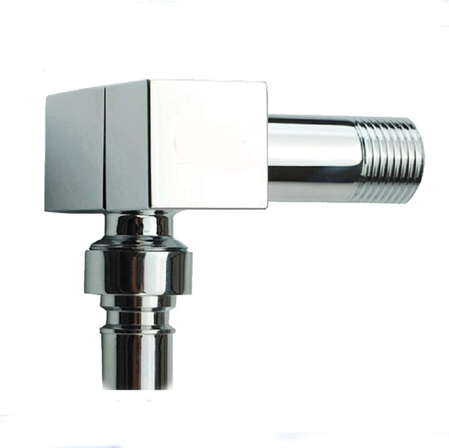 FZHLR Brass Handle Cold Water Faucet, Wall Mounted Basin Tap Bibcock Cold Faucet