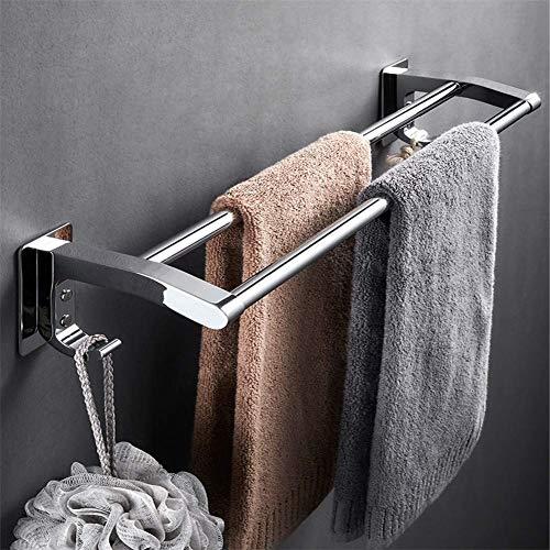 Bohrfreier Badetuchhalter, Dicker Handtuchhalter aus Edelstahl und an der Wand montierter Handtuchhalter, verwenden