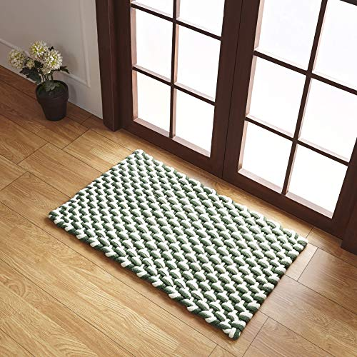 Better Trends Stranded Collection is Durable & Stain Resistant Indoor Outdoor Area Utility Rug 100% Polypropylene in woven Pattern, 24