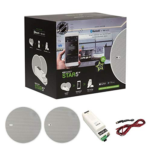 KBSound Star Einbauradio mit DAB+, UKW und Bluetooth, App-Steuerung inkl. 5 Zoll LS