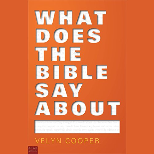 What Does the Bible Say About... audiobook cover art