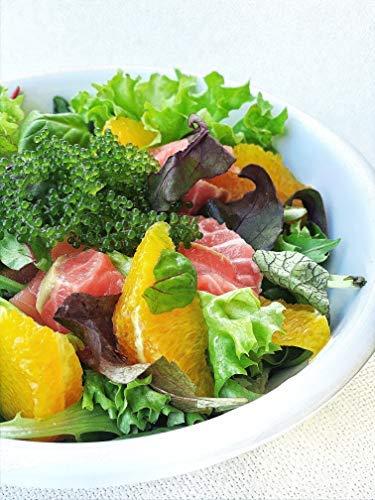 Umi Sea Grapes, einzigartige Algen, Umibudo, Grüne Kaviar, Meerestraube erhältlich 40g dehydriert, ergibt ca. 200g Salat