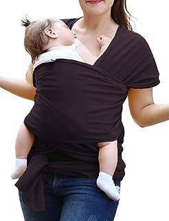 LOOVOOベビースリング 抱っこ紐 新生児 ババスリング 人気ランキング 多色 お出かけ用 旅行 安全 携帯便利 使いやすい ベビーキャリア ベビーラップ 収納袋付