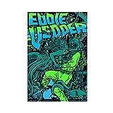 Eddie Vedder Taormina Sizilien Italien Leinwand Poster