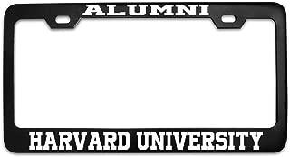 Mark Reynolds Alumni Harvard University University Black Metal Steel License Plate Frame Tag Black