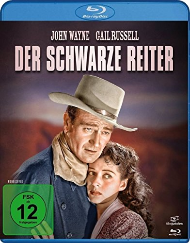 Der schwarze Reiter  (John Wayne) [Blu-ray]