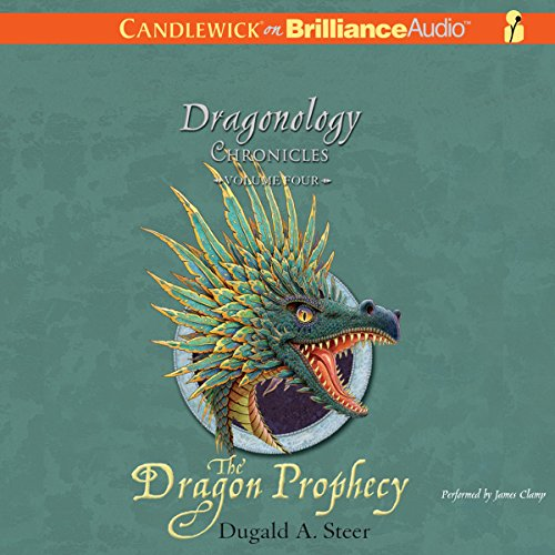 The Dragon Prophecy audiobook cover art