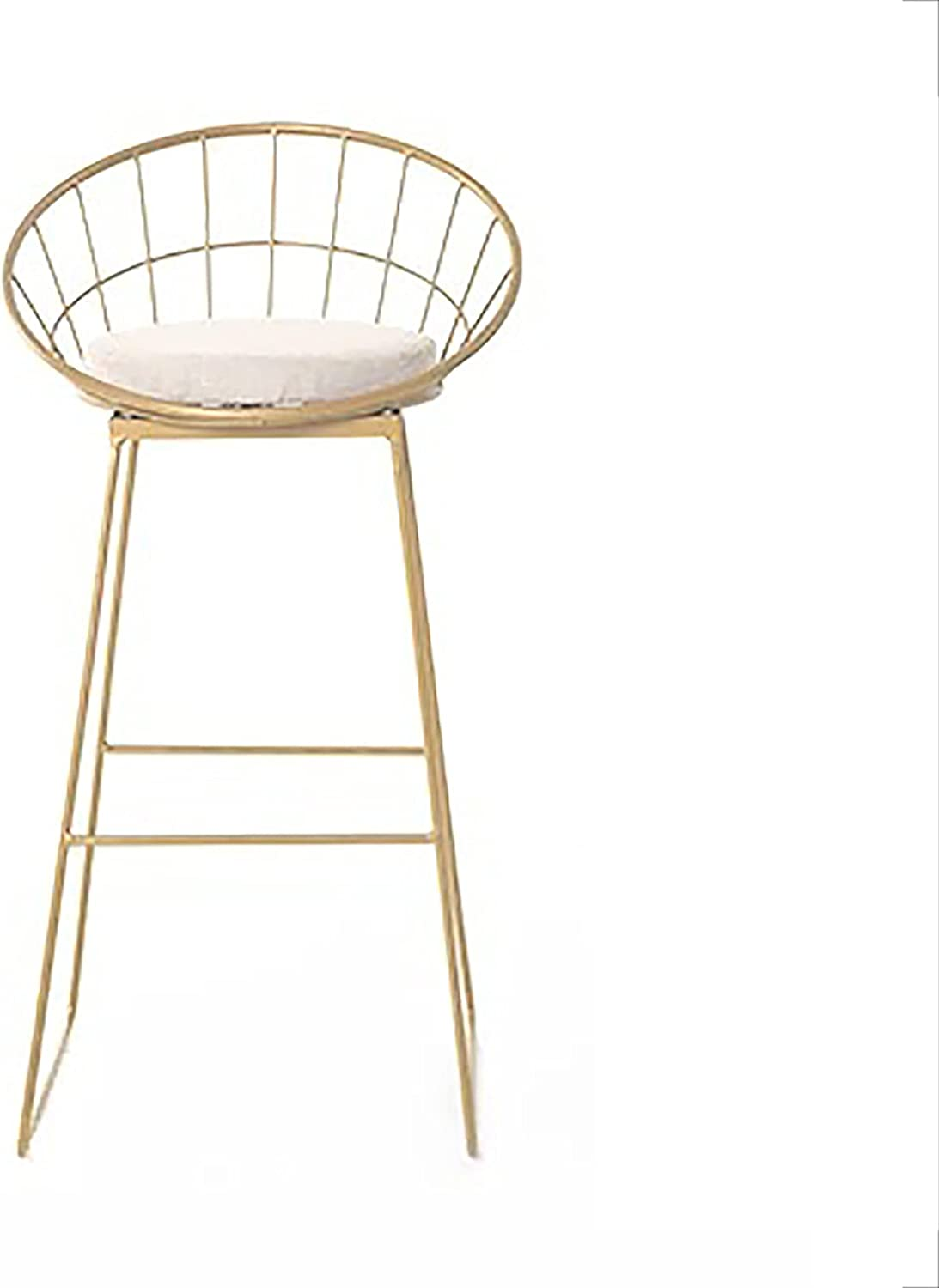 Max 75% OFF Sale price WANGFENG Bar Chair Nordic Go Creative Simple Stool