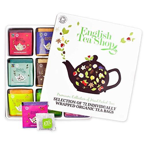 English Tea Shop - Hochwertige Tee-Geschenkbox aus Metall