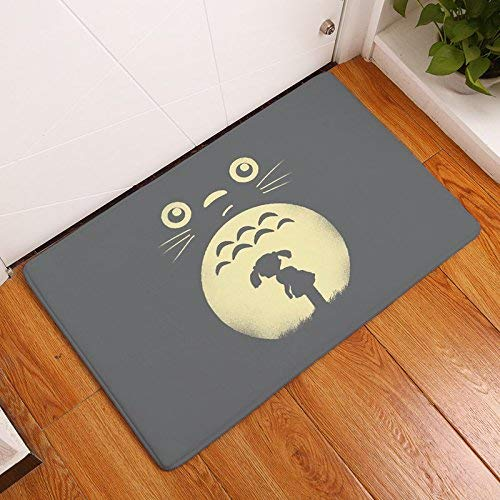Lmunxuy Homing Totoro Cat Cute Animal Fashion Rectangular Mats 40x60cm 23.6x15.7 Inch Entrance Doormats Washable Kitchen...