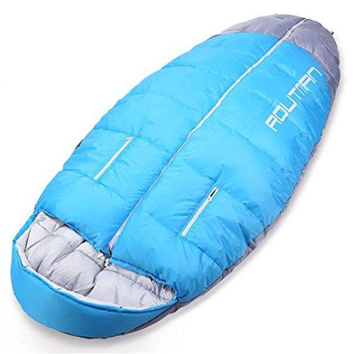 Saco De Dormir Para Mochilero, Camping O Senderismo. ¡Talla Grande! El Saco De Dormir Resistente Al Agua Para Clima Frío Para Adultos, Adolescentes. Tienda, O Saco De Dormir, Peso Ligero