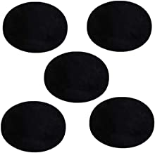 Supvox 25 Pcs Iron On Patches,Oval Suede Cowhide Elbow Patches Elbow Knee DIY Repair Patches for Sweater Repair Crafts Repair Kit