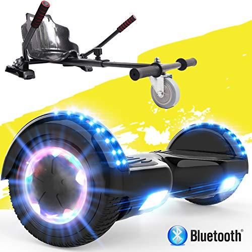 GeekMe Scooter électrique Auto-équilibré y HoverKart,6,5