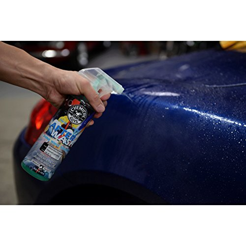 Chemical Guys CWS_801_16 After Wash Sprayable Gloss Boosting Car Wash Drying Aid (Helps Reduce Water Spots), 16 oz., Green Apple Scent