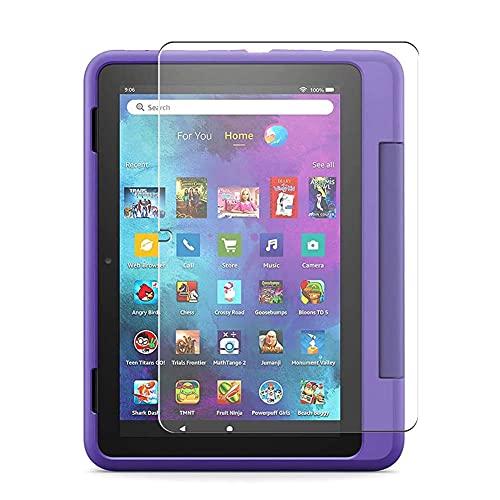 Vaxson 3 Unidades Protector de Pantalla, compatible con Fire HD 10 Kids Pro tablet 2021 10' [No Vidrio Templado Carcasa Case ] Película Protectora Film Guard