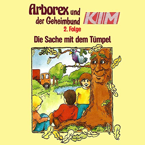 Die Sache mit dem Tümpel audiobook cover art