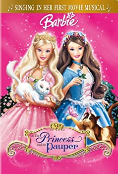 DVD Barbie as the Princess and the Pauper Book