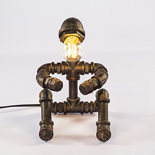 Tafellamp, industriële wind, retro, waterkraan, keukenmachine, bescherming, tafellamp, café, bar, creatief cadeau, tafellamp, bedlampje