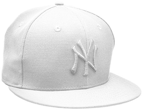 New Era Optic New York Yankees Blanc On Blanc - Chapeau pour Homme, couleur Blanc, taille 8 0/0