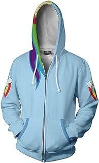 rainbow dash cosplay jacket