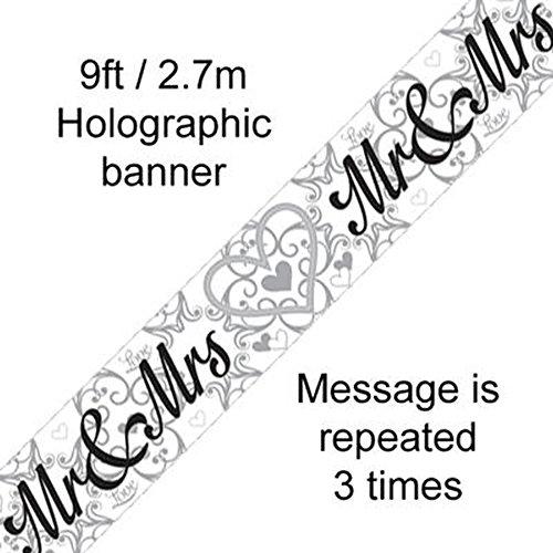 Bruiloft Banner MR & MRS hart Love film Party slinger