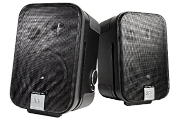 JBL Professional C2PS Control 2P Compact Powered Monitor Master and Extension Speakers
