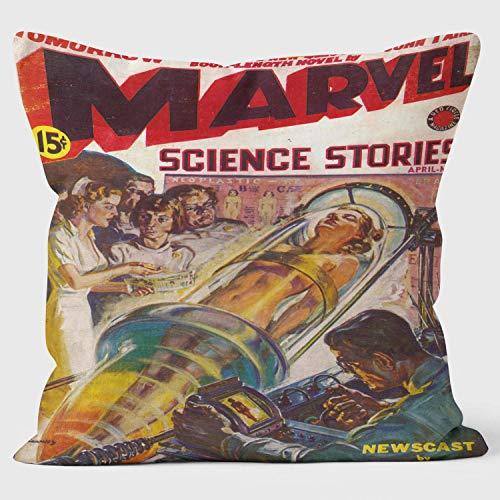 Marvel Science Stories - cojín de Pulp Fiction