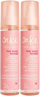 Cake The Wave Maker, Texturizing, Beach Spray, 2 Pack, 4 fl oz each