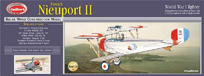 Krick Nieuport II Balsabausatz