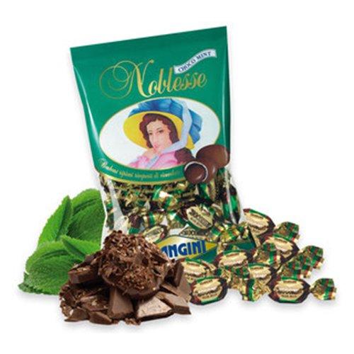 NOBLESSE CHOCO MINT MANGINI kg 1 Praline morbidissime ripiene di crema alla menta ricoperte di cioccolato fondente