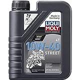 Liqui Moly 1521 Moto 4T 10W-40 Calle, BOOKLET, 1 L