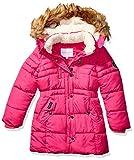 Weatherproof Girls' Big Fashion Outerwear Jacket (More Styles Available), Paprika Puffer Fuchsia, 7/8
