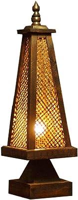 テーブルランプ卓上スタンド 東南アジアスタイル竹テーブルランプタイスタイルルームベッドサイドランプアンティーククリエイティブテーブルランプ装飾テーブルランプ 屋内照明卓上スタンドテーブルランプ