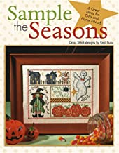 Sample the Seasons in Cross Stitch-6 Holiday Samplers for Great Gifts and Home Décor!