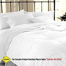 Avi Cotton 310TC 1 Comforter ( King, White)