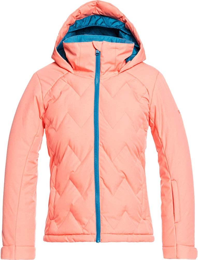 Roxy - Girls Miami Mall Breeze Jacket Size: Coral NEW before selling ☆ 16 Fusion Color: