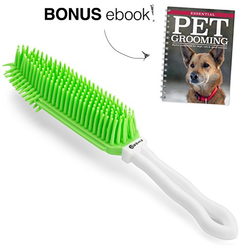 Dashka Pet Hair Removal Brush for Furniture, The Hair Magnet Brush Makes for Easy Cleaning and Drying of Your Brush Will Not Damage Your Couch
