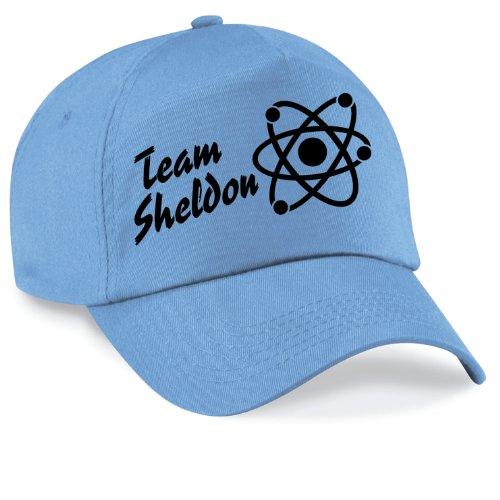 Casquette team sheldon bazinga movie capy cap taille style unisexe nombreux coloris disponibles Bleu Bleu brillant Unisex