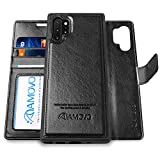 AMOVO Galaxy Note 10+ Wallet Case [2 in 1 Detachable] Vegan...