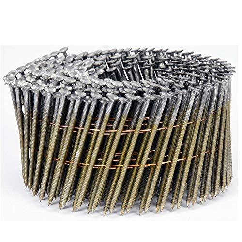 VOREL drahtgebundene Coilnägel Spulennägel Trommelnägel | Mengen und Größen nach Wunsch: 32 x 2,1 mm 38x2,1mm 50x21mm 64x2,5mm 70x2,5mm 75x2,5mm 80x2,88mm 90x2,8mm (3000, 64x2,5mm)