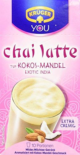 KRÜGER Chai Latte Exotic India Typ Kokos Mandel (1 x 0.25 kg)