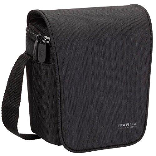 Rivacase M107301_black camera/videotas voor camcorder en compact systeemcamera zwart