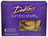 DaVinci Signature, Jumbo Shells Pasta, 12 Ounce Boxes (Pack of 12)