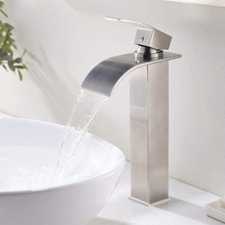Lddpl Wasserhahn Neue 1 Satz wei Fashion Style Multi-Farbe-Waschbecken Wasserhahn kaltes und warmes Wasser Waschbecken Armaturen Mixer 360 Rotation
