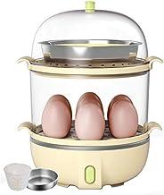 Bateaux à vapeur for cuisson chaudière d'oeufs dur doux poché Cuisinière Accueil Acier Double Egg inoxydable Steamer légum...