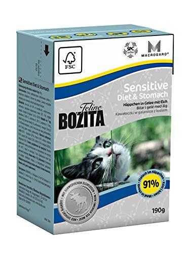 Bozita Cat Tetra Recard Diet + Stomach - Sensitve 190g