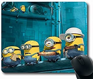 Paradise Minions Personalized STYLE (122061) Custom Gaming Mousepad Non-Slip Rubber Standard Size 220mm*180mm*3mm Custom Mouse Pad Oblong Mousepad in 9