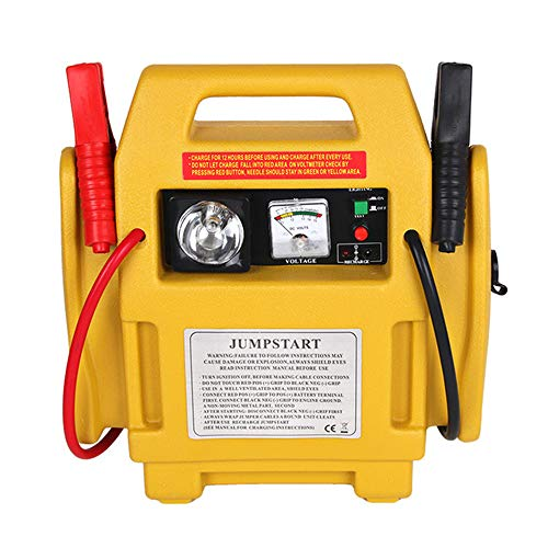 Discover Bargain 12V Portable Car Jump Starter, Car Emergency Start Power Supply Three-in-One with L...