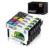 JARBO Compatible Epson 29 XL Cartouches d'encre (2 Noir,1 Cyan,1 Magenta,1 Jaune)...